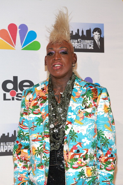 Dennis Rodman at 2013 All Star Celebrity Apprentice Finale