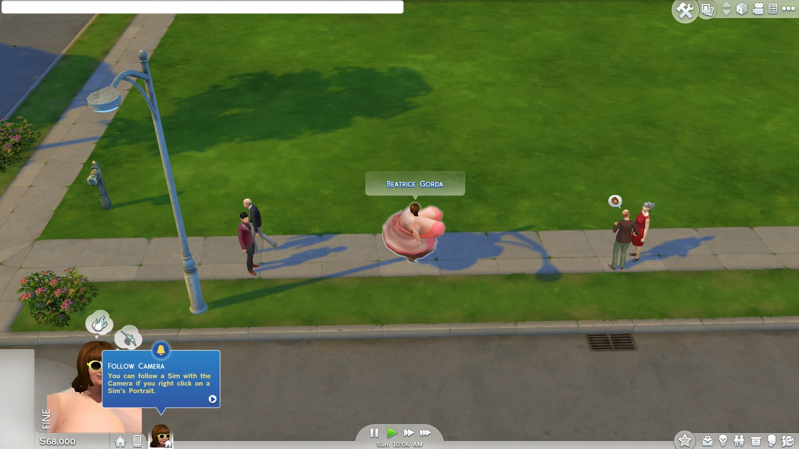 You can create ridiculous Sims