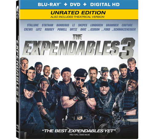 3. The Expendables 3