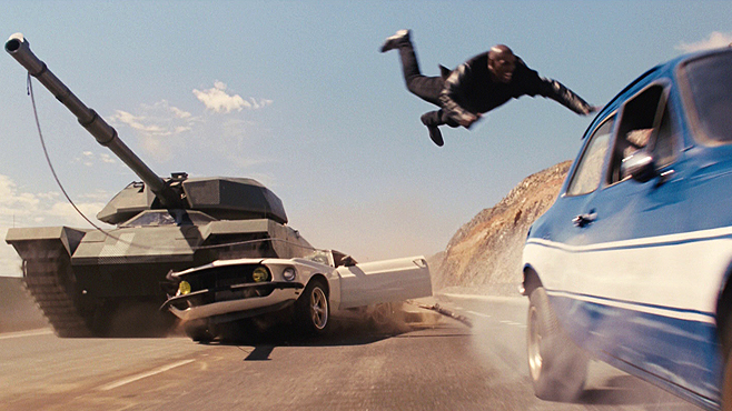 11. The Tank Battle, from Fast & Furious 6