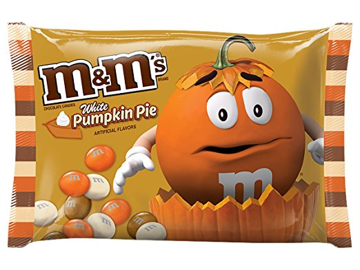 5: White Pumpkin Pie M&Ms