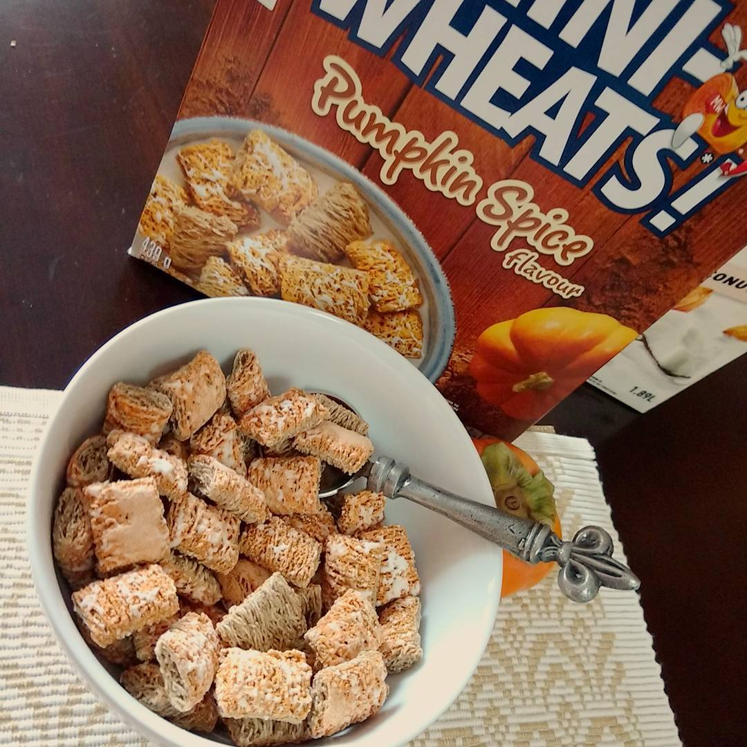 6: Pumpkin Spice Mini Wheats