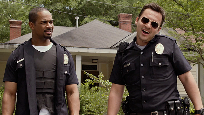 Let's Be Cops: Exclusive 'Super Illegal' Clip