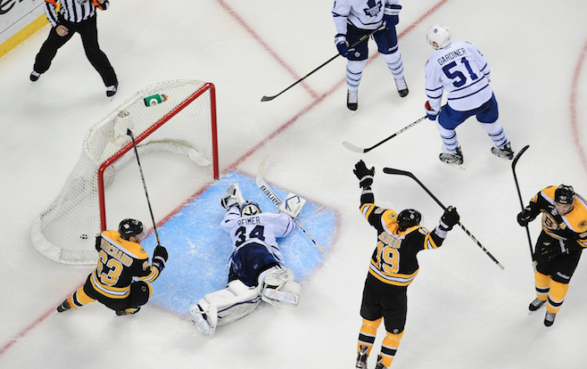 7. Bruins' Amazing Comeback Against Maple Leafs