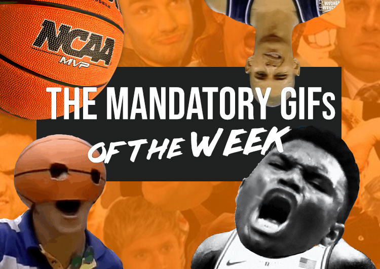 Mandatory GIFs of the Week: Pure March Madness