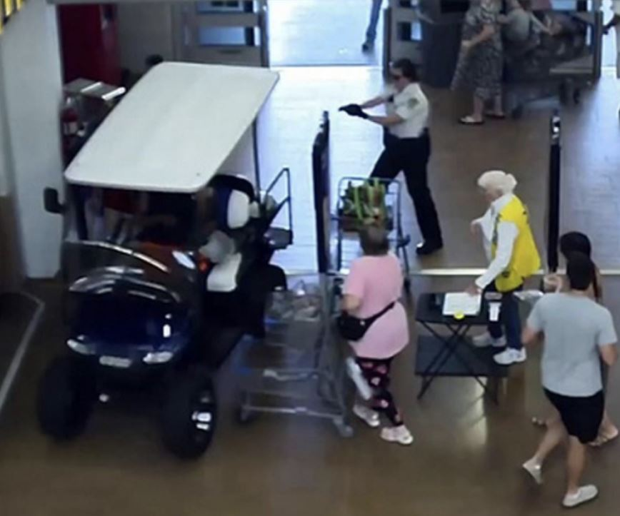 Meanwhile in Florida: Man Goes on Golf-Cart Rampage Through Walmart