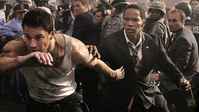 Honorable Mention: White House Down