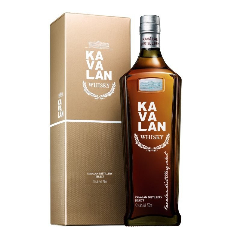 Kavalan Distillery Select Single Malt Whisky (Taiwan)