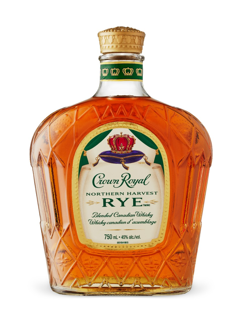 5. Canadian Whiskey – Crown Royal Northern Harvest Rye