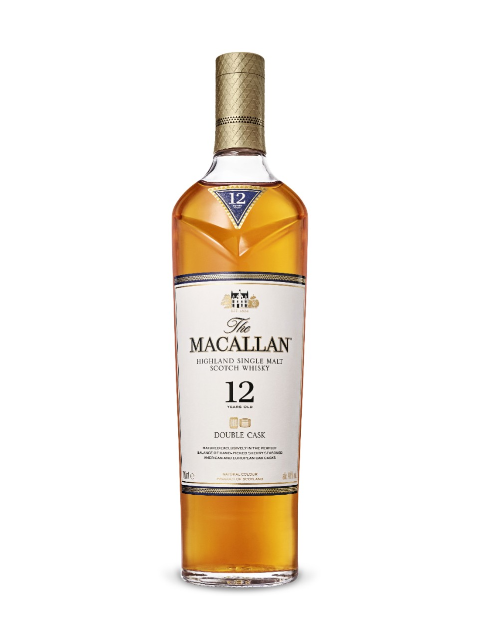 2. Scotch Whisky – The Macallan Sherry Oak 12 Years Old
